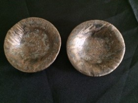 rustic gold small dishes